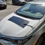 קיט טעינה סולארי למצבר רכב 12V